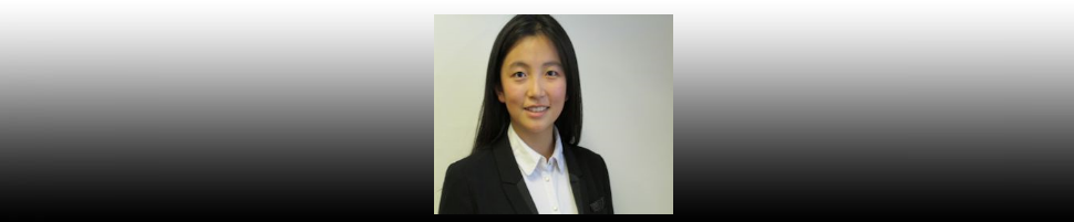 Student Spotlight – Zoe Li